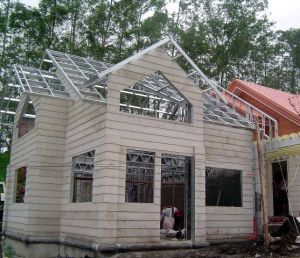 Light Steel Movable Plank Building in America pictures & photos
