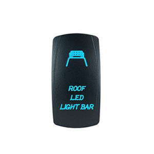 Car Boat Truck LED Rocker Toggle Switch with Spot Light pictures & photos