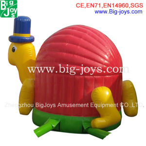 Turtle House Inflatable Bouncer/Hot Sale Inflatable Bouncer (DJBC017) pictures & photos