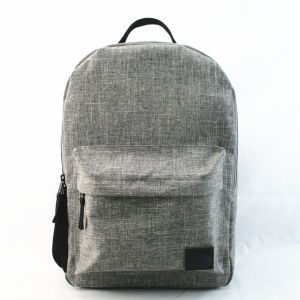 Heather Grey Recycled Back to School Backpack pictures & photos