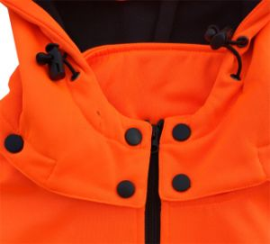 Hot Selling Working Orange Color Hi Vis Sweat Jacket pictures & photos