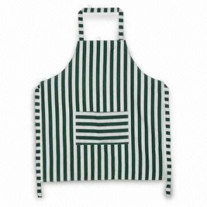 Promotional Cotton Polyester Kitchen Cooking Apron with Customized Embroidery Logo pictures & photos