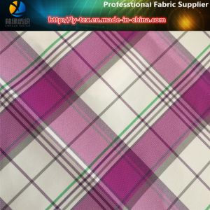 Polyester Jacquard Yarn-Dyed Fabric, Spandex Fabric for Golf′s Garment pictures & photos