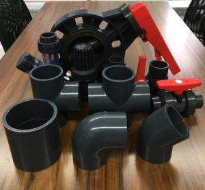 PVC Pipe Fittings Equal Tee Pn16 pictures & photos