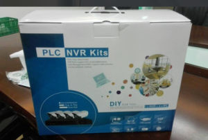 CCTV System Powerline Communication PLC NVR Kit (PLCA9104WH20) pictures & photos