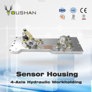 Nc Machine Tool Fixture Sensor Housing 4-Axis Hydraulic Workholding
