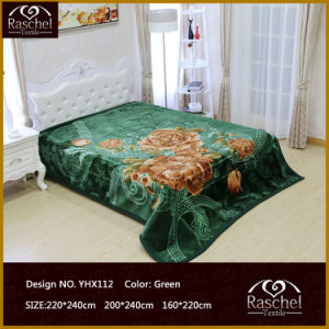 Blanket with 100% Polyester Mink Quality