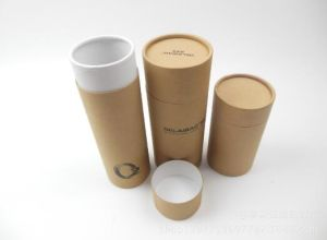 Wholesale Customized Round Paper Bulk Tea Tin Canister pictures & photos