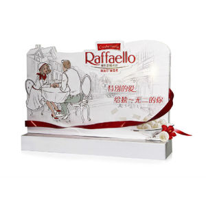 Point of Sale Cardboard Paper Display Shelf for Chocolate Shop Sale pictures & photos
