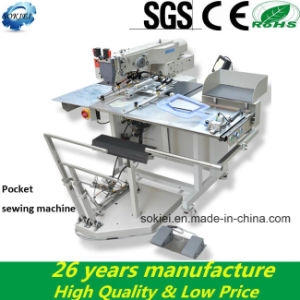 Dongguan Automatical Computer Pocket Sewing Machines pictures & photos
