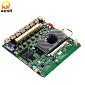 Mini Itx Multi LAN 12V DC Firewall Router Motherboard pictures & photos