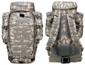 Five Colors Military Outdoor Bag Nylon Molle Combination Backpack pictures & photos