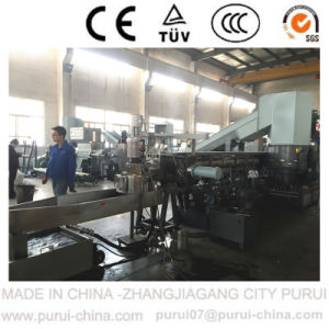 Plastic Recycling Granulating Machine for TPE Plastics pictures & photos
