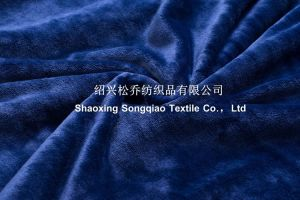Coral Fleece Adult TV Blanket with Sleeves -Drak Blue pictures & photos