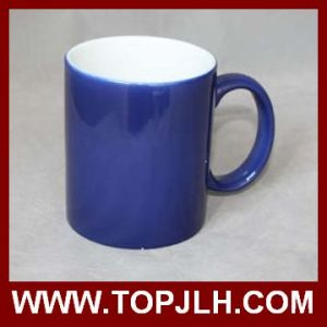 Hot Selling 11oz Sublimation Full Color Change Ceramic Mugs