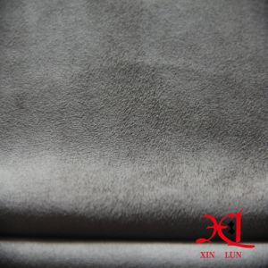 Brushed 100% Polyester Waterproof Sofa Suede Fabric pictures & photos