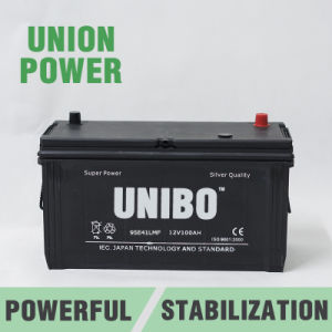 Truck Battery 95e41L Mf 12V100ah High Performance Maintenance Free Car Battery pictures & photos