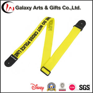 New Design Multifuction Polyester fabric Printed Guitar Strap with Pick Holder