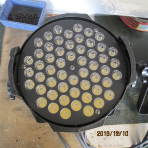 54X3w DMX Warm White LED PAR Light for Sale pictures & photos