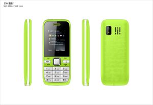Customized Feature Mobile Phone 1.8 Inch Dual SIM Feature Cell Phone Elder Bar Phone A23 pictures & photos