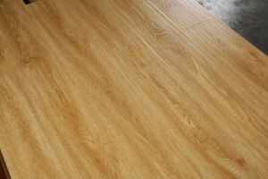 12mm Wood Grain U-Groove Lamiante Flooring pictures & photos