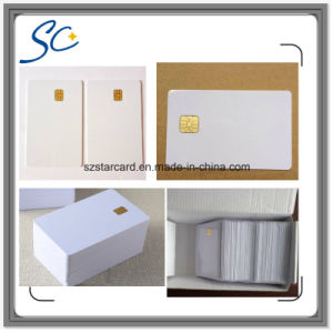 Sle4442 Full Color Printing Plastic Smart Contact IC Card pictures & photos
