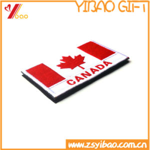 Custom Logo Flag Embroidery Woven Patch of and Embroidery Badge (YB-pH-411) pictures & photos