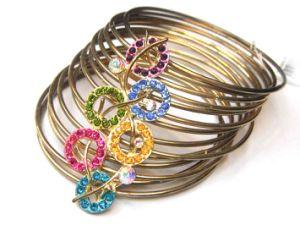 Fashion Colourful Stone Quality Jewelry Bangle