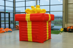 Hot Sell Inflatable Balloon Gift Box for Advertising pictures & photos