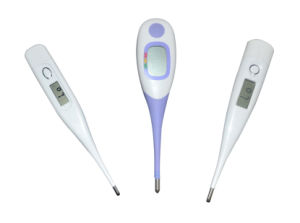 Fast Read Digital LCD Thermometer with Feverline pictures & photos