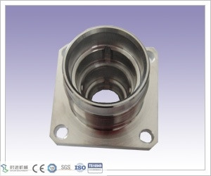 Customized CNC Machining and CNC Turning Stainless Steel Square Plate Shell of Correspondence Parts pictures & photos