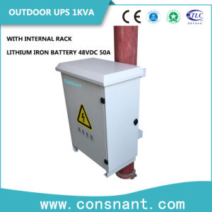Outdoor Online UPS 6kVA with Lithium Iron Battery pictures & photos