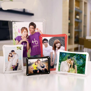 Promotional Clear Crystal Acrylic Photo Frame pictures & photos