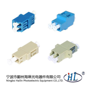 LC/PC Duplex Fibre Channel Adapter for Fiber Optic Panel pictures & photos