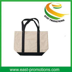 Fashion Natural Color Cotton Canvas Tote Bag pictures & photos