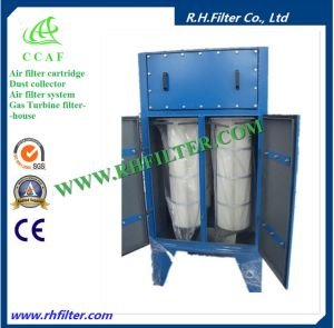Vertical Cartridge Dust Catcher for Grinder pictures & photos