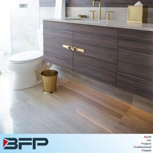 Hot Sell Wood Bathroom Storage Cabinet Vanity pictures & photos