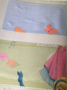 Home Use Curtain Polyester Fabric EDM5300 pictures & photos