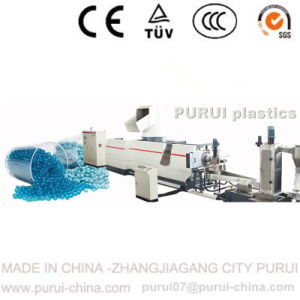 Plastic PE PP Film Recycling Machine with Capacity 400-550kg Per Hour pictures & photos