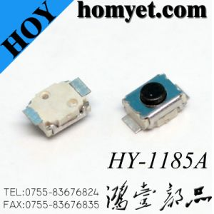 2*3mm 2pin SMT Type Micro Tact Switch (HY-1185A) pictures & photos