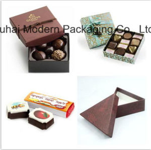 OEM Custom Chocolate Paper Gift Box with Bags pictures & photos