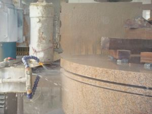 Column Cap and Base Profile Stone Cut&Cutting Machine for Granite& Marble pictures & photos