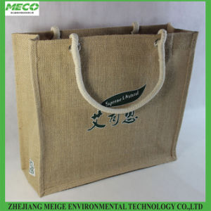 Eco-Friendly Jute Shopping Bag, with Custom Design and Size pictures & photos