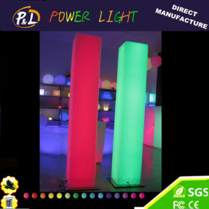 LED Square Column with RGB 16 Colors for Wedding Decoration pictures & photos