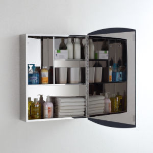 Top Quality Modern Style Bathroom Mirror Cabinet 7026 pictures & photos
