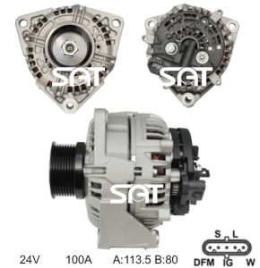 Bosch Alternator 0124655001 Ca1739IR 12389 pictures & photos