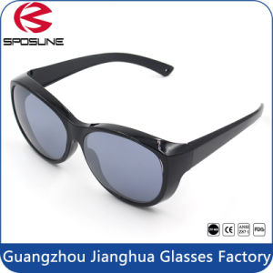 Mens Polarizes Mirrored Lens Cycling Fishing Spor Sunglasses Matte White Temple pictures & photos