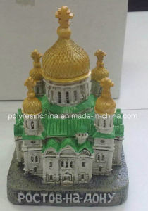 Polyresin Russian Church of Souvenir Decoration pictures & photos