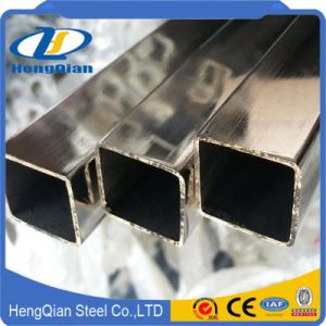 Thick 1mm 25X25mm Size 304 316 Rectangle Stainless Steel Pipe/Tube pictures & photos