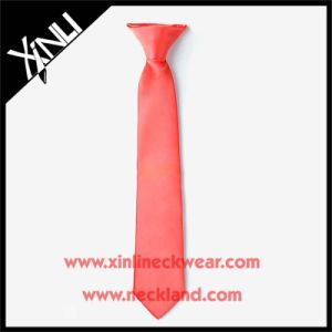 Wholesale Custom Clip-on Orange Ties for Boys pictures & photos
